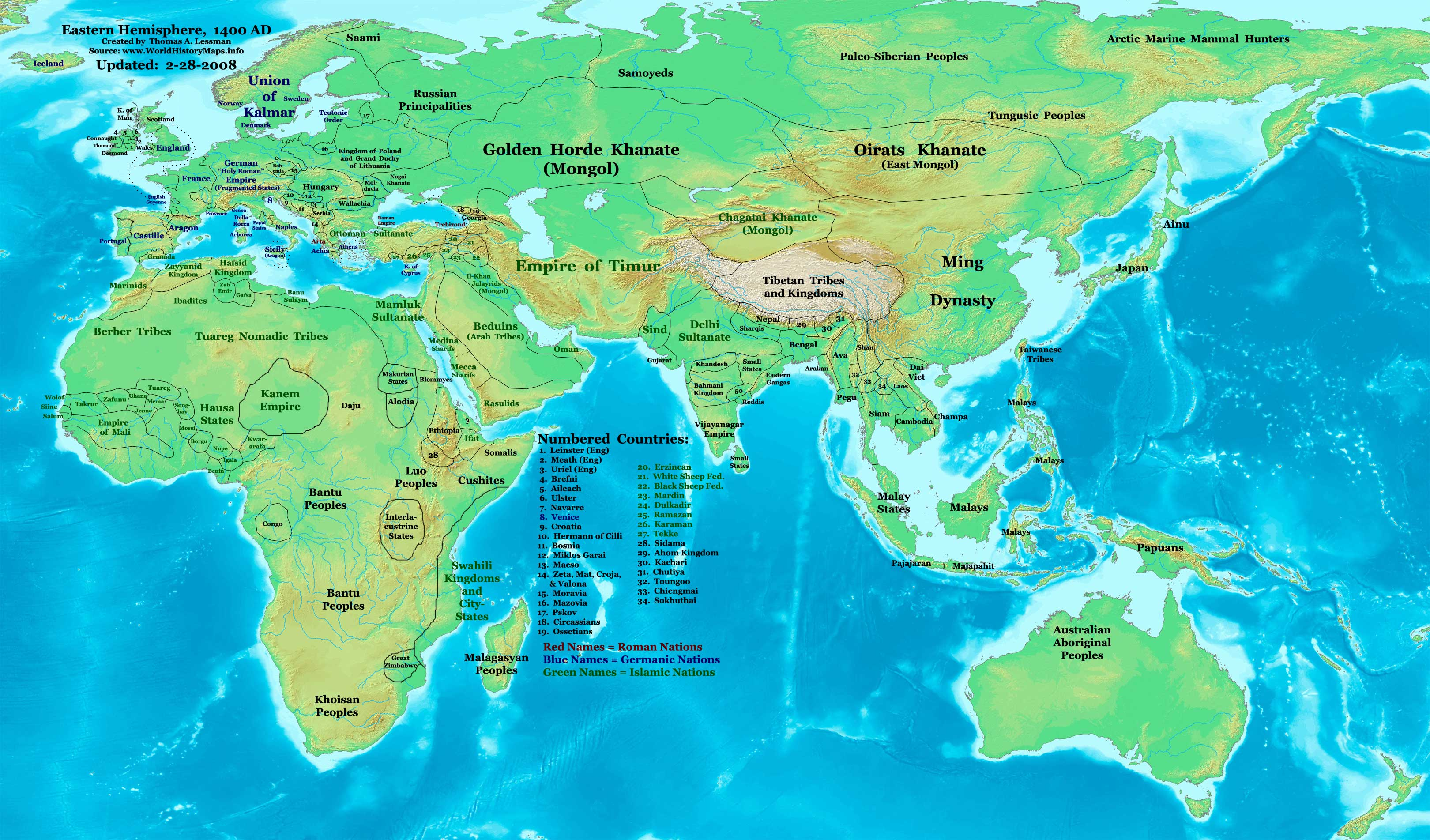 World Map 1400 Ad For Pinterest