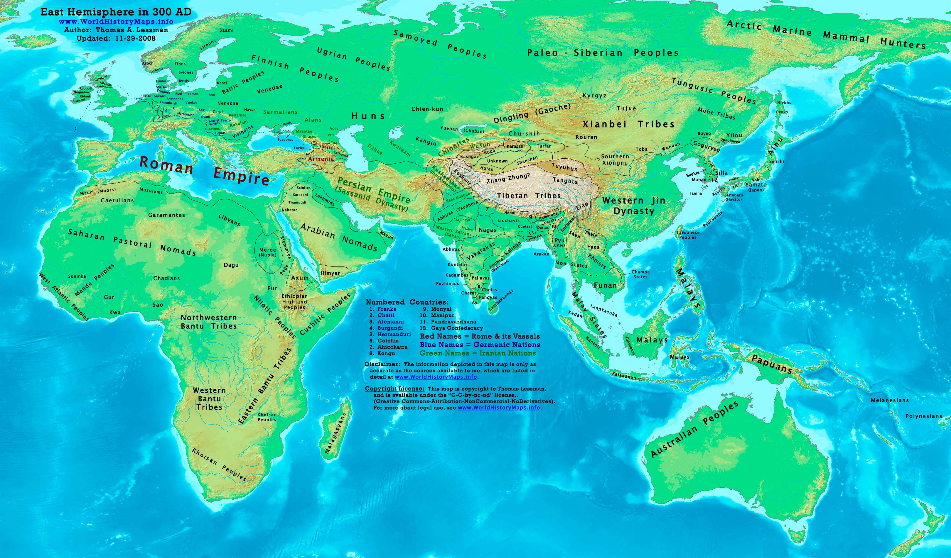 Picture of: World History Maps By Thomas Lessman
