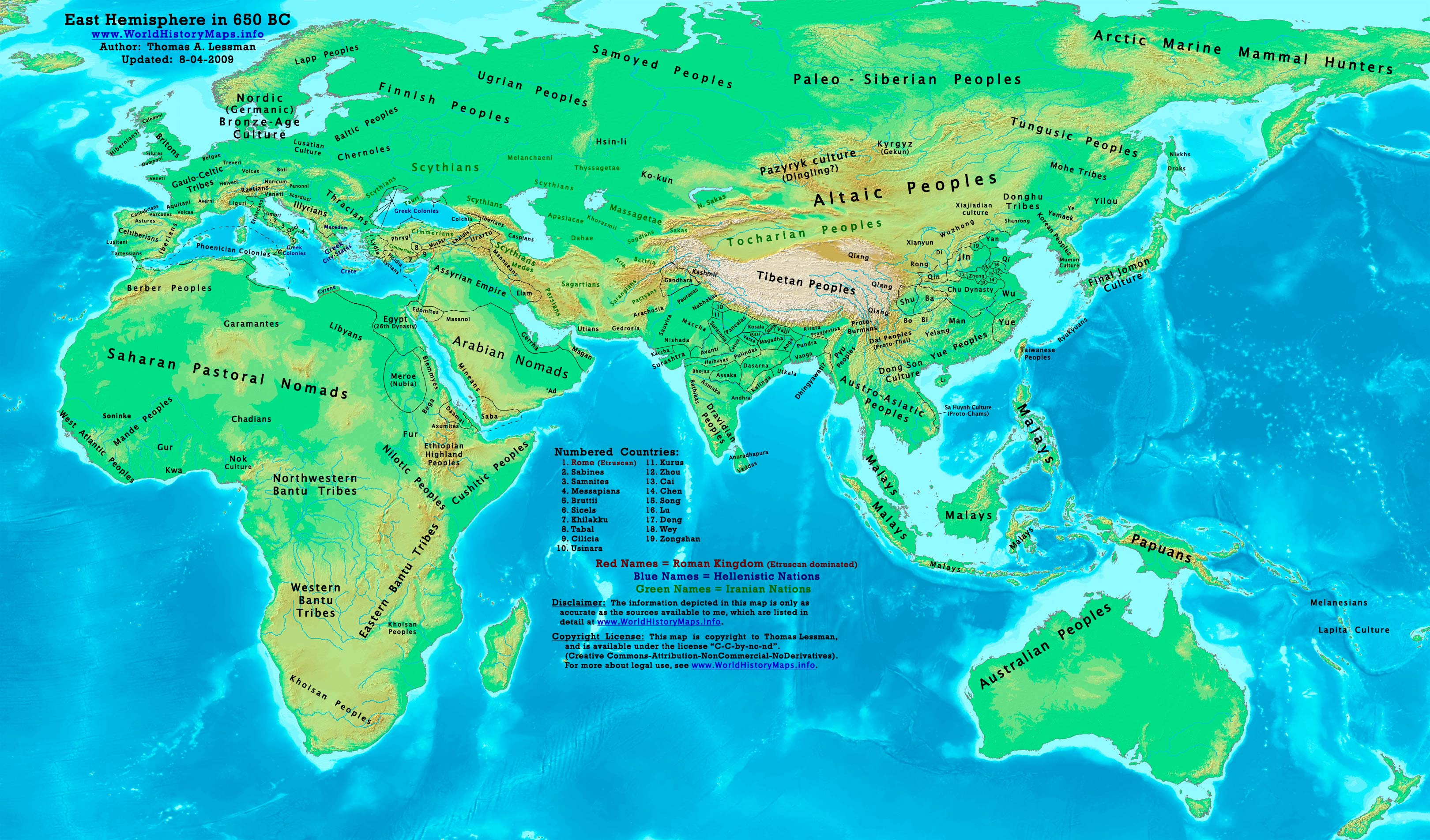 Map Of Asia In 700 Ad.World History Maps By Thomas Lessman