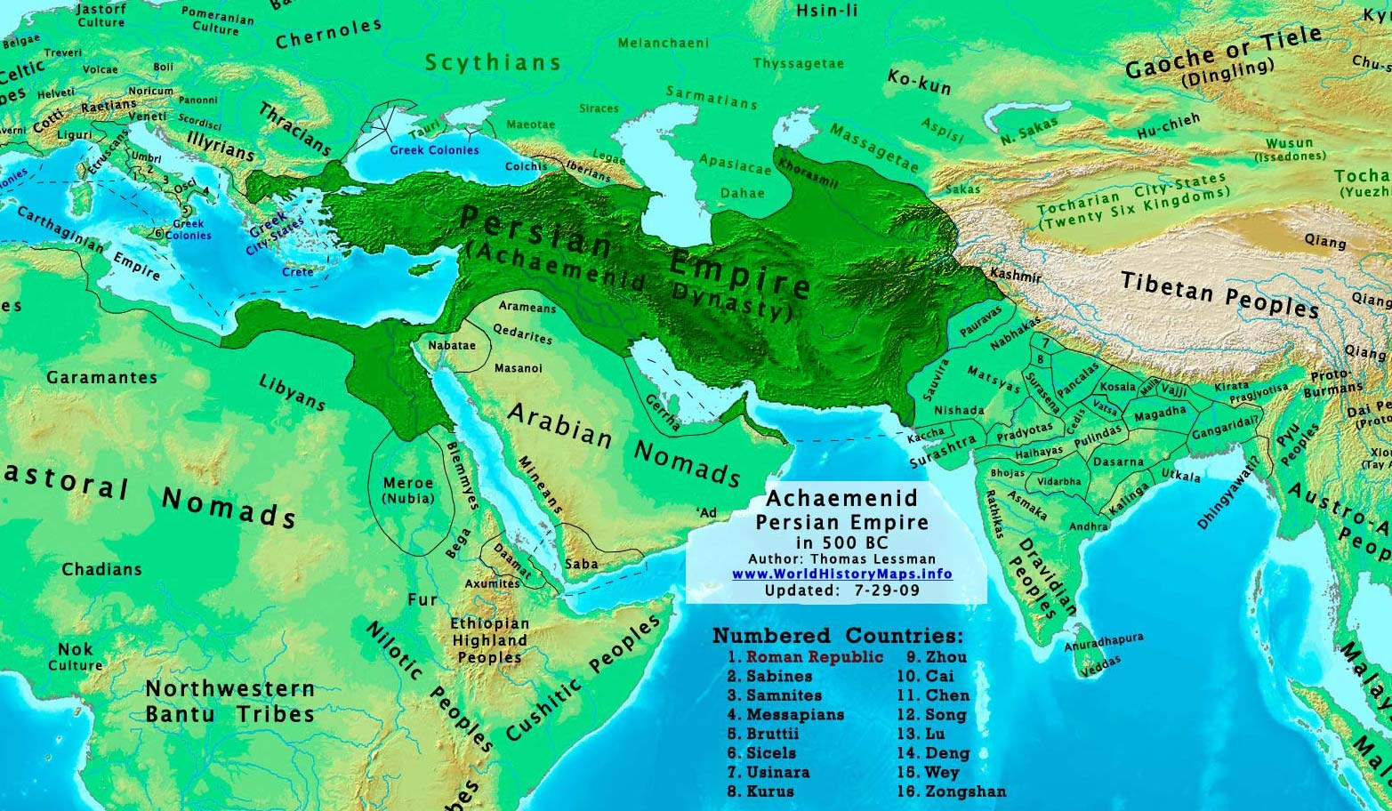 World history maps by thomas lessman achaemenid empire gumiabroncs Image collections