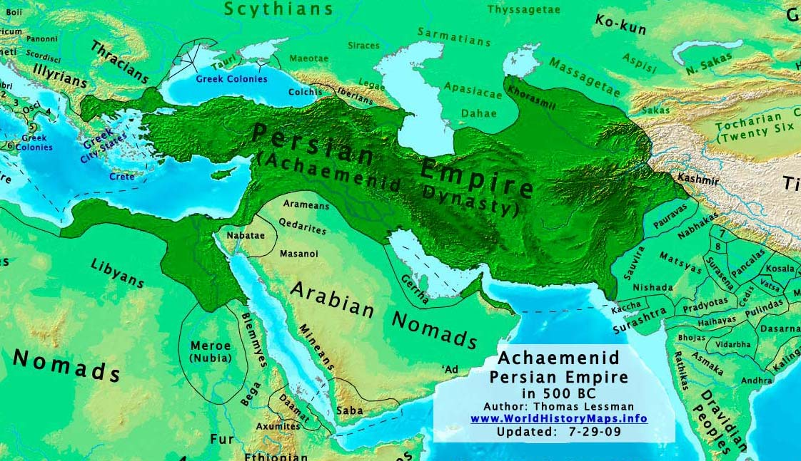 Thomas lessmans atlas of world history uploaded new map of east hem650bcg and uploaded new specialized maps of the persian achaemenid empire in 500 bc including a large and a gumiabroncs Choice Image