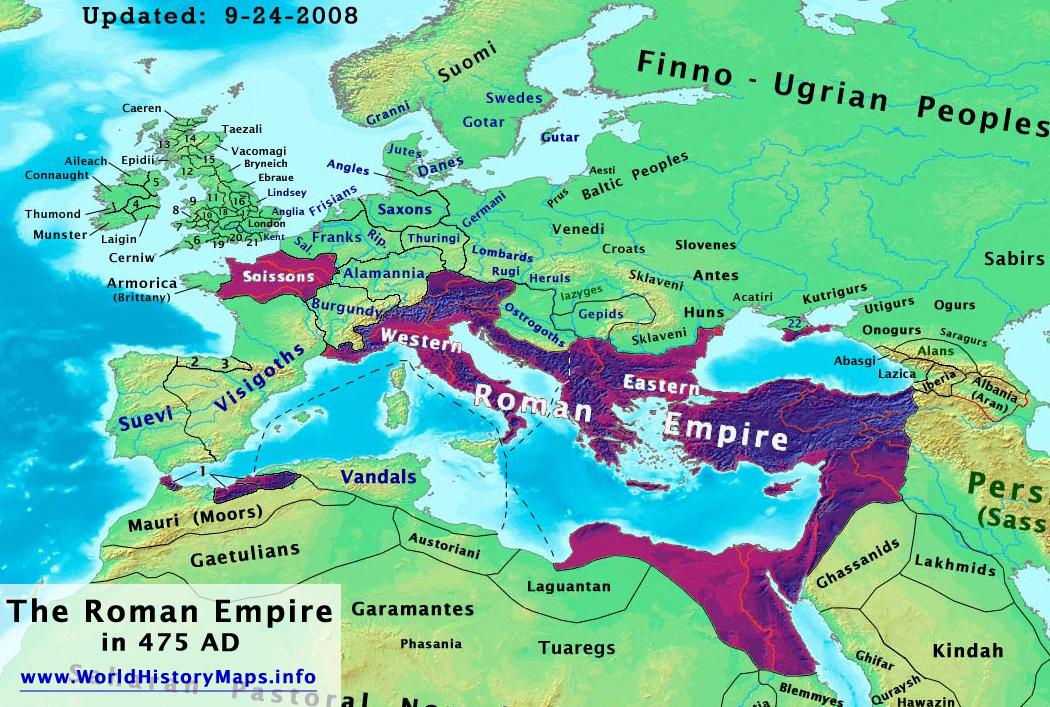 Map Of England 790 Ad.World History Maps By Thomas Lessman