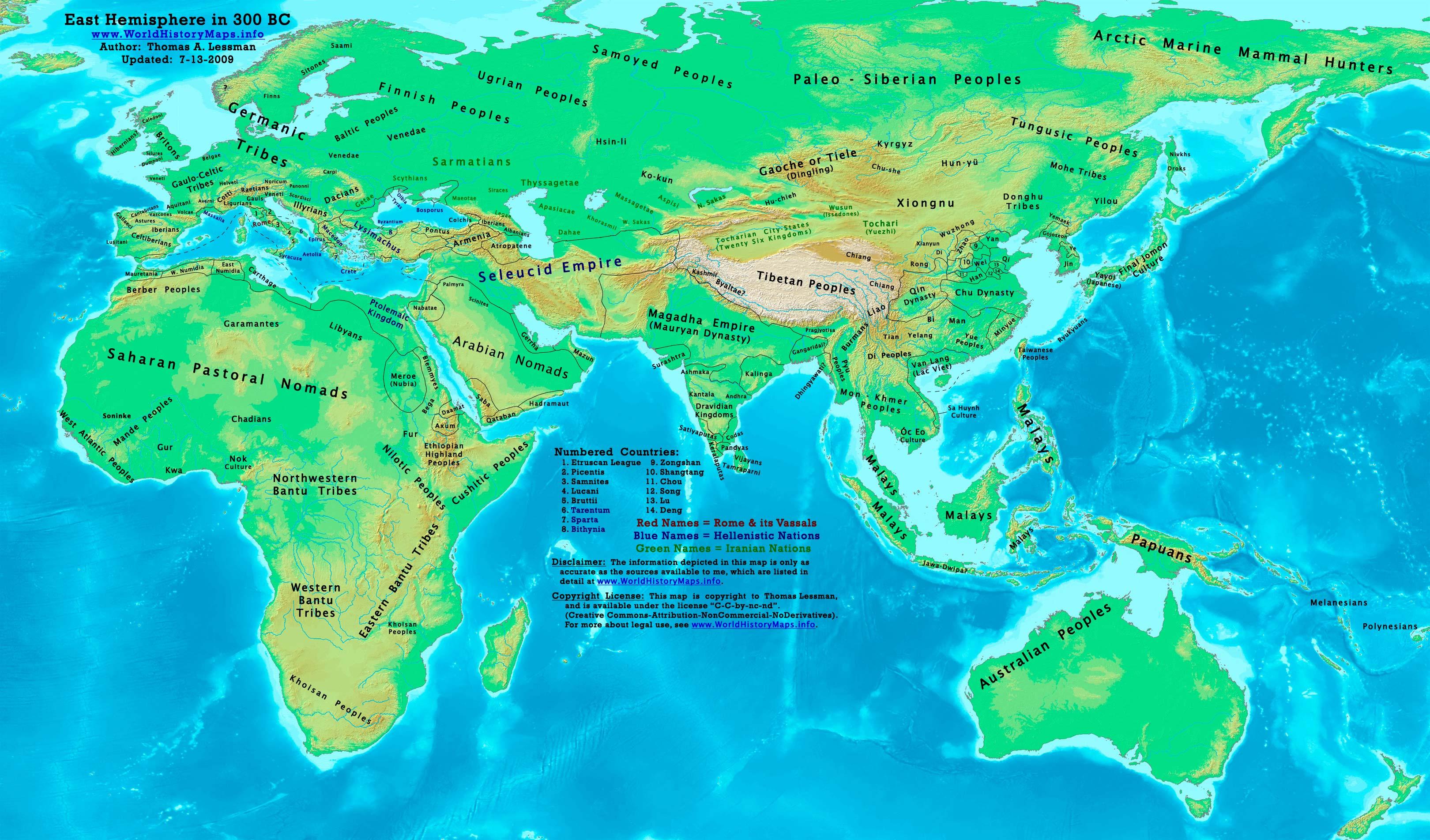 ancient world 300 BC